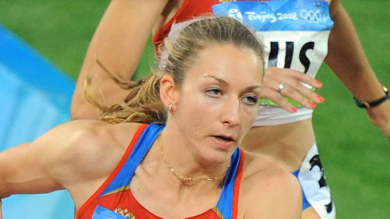 Tatyana Firova of Russia was found guilty of doping violations