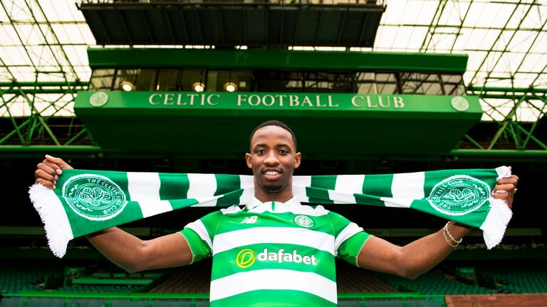 Celtic unveil their new signing Moussa Dembele, 28 June 2016