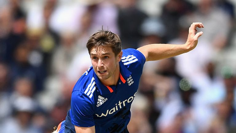 Chris Woakes took nine wickets at 19.22 in four matches in the ODI series against Pakistan