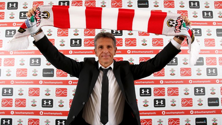 Southampton's new manager Claude Puel pictured at The Staplewood Campus, 29 June 2016 (mandatory picture caption credit: Southampton FC)