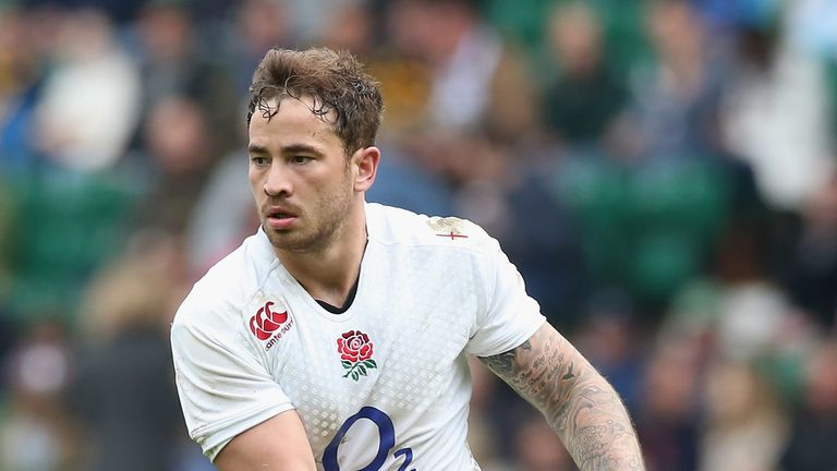 Danny Cipriani has been recalled by England after a three-year absence