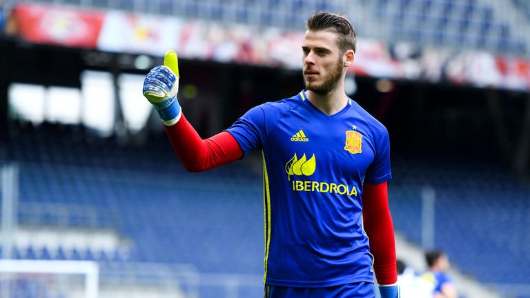 David de Gea and Spain are dreaming of World Cup glory
