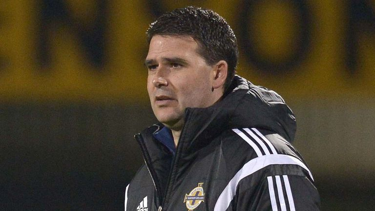 Linfield are managed by a former Rangers player, ex-Northern Ireland striker David Healy