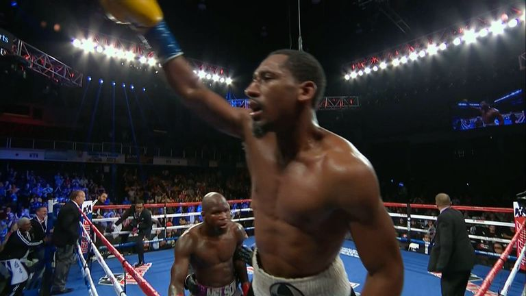Demetrius Andrade is looking for a world title fight