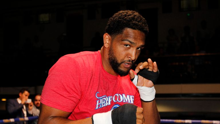 Dominic Breazeale sits just behind Whyte in the WBC rankings