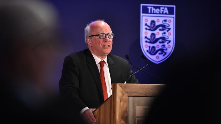 Greg Dyke left Wembley as FA chairman for a final time on Thursday