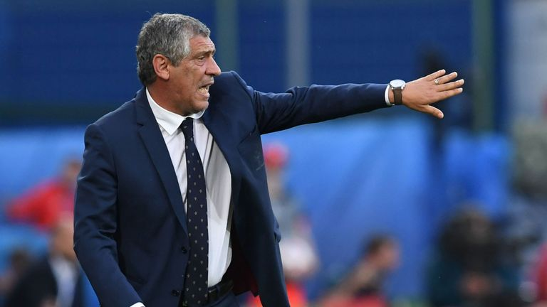 Fernando Santos has not lost a competitive match with Portugal