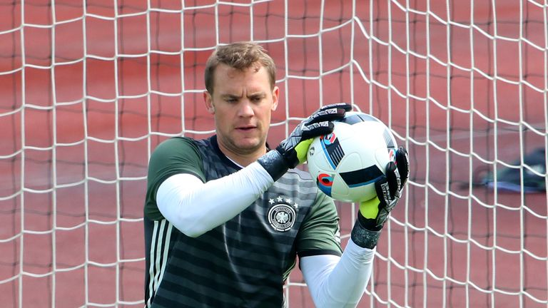 Manuel Neuer is ready to captain Germany in their opening Euro 2016 fixture