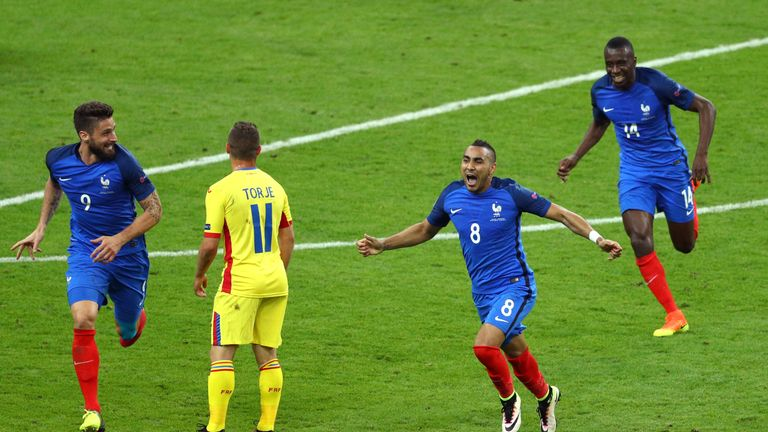 Dimitri Payet was France's hero with a fantastic late winner in the 2-1 victory over Romania in Euro 2016's opening game
