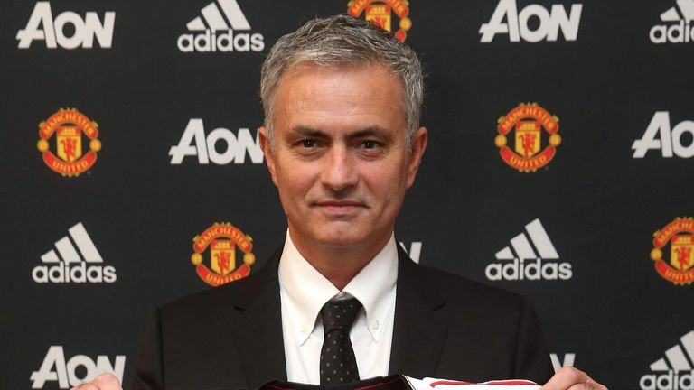 Jose Mourinho has won 22 trophies as a manager since 2003