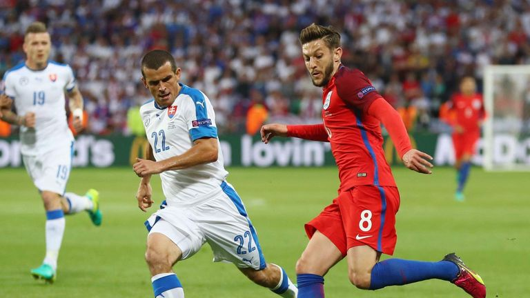 Slovakia earned their place in the final 16 with a 0-0 draw against England