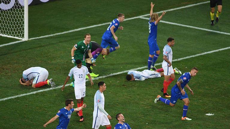 Iceland beat England at Euro 2016