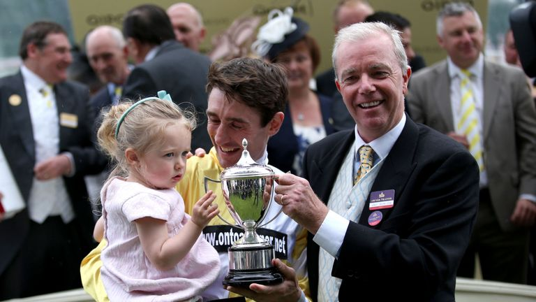 It's a result to savour for jockey Dougie Costello and trainer Karl Burke