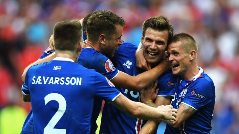 Iceland's win against Austria meant they finished Group F in second and will now face England in the last-16.