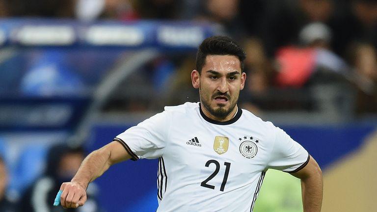 Ilkay Gundogan will miss Euro 2016 through injury