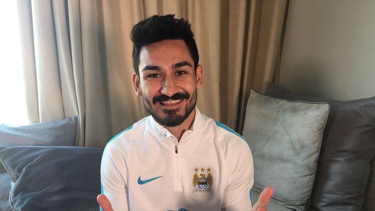 Ilkay Gundogan, Manchester City (picture courtesy of Manchester City FC)