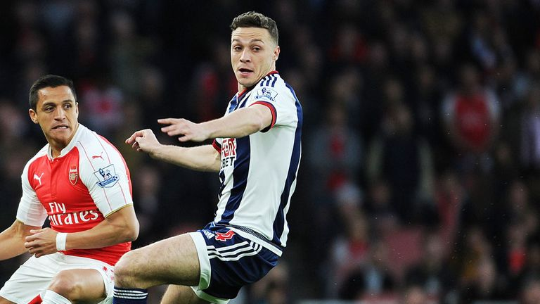 James Chester broke into the West Brom side at the turn of the year