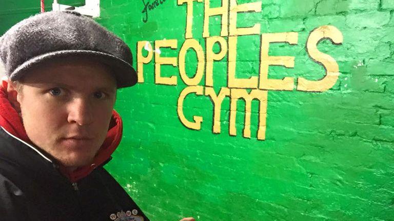 Former English lightweight challenger Kieran Farrell