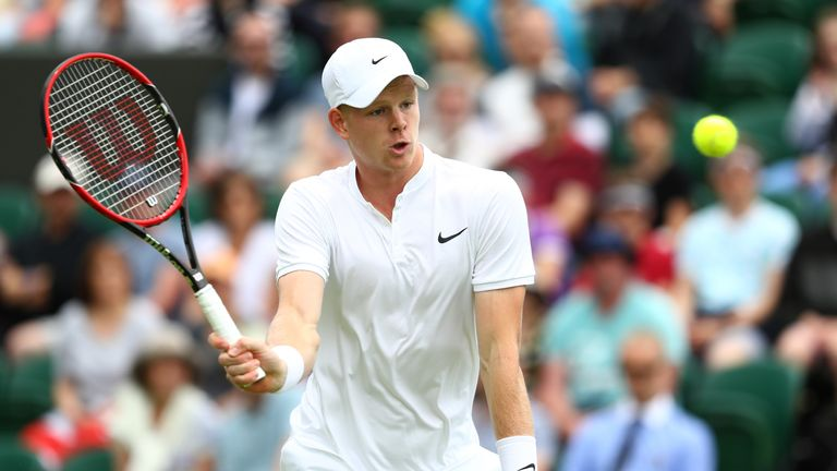 Kyle Edmund must wait for an appeal to confirm his place