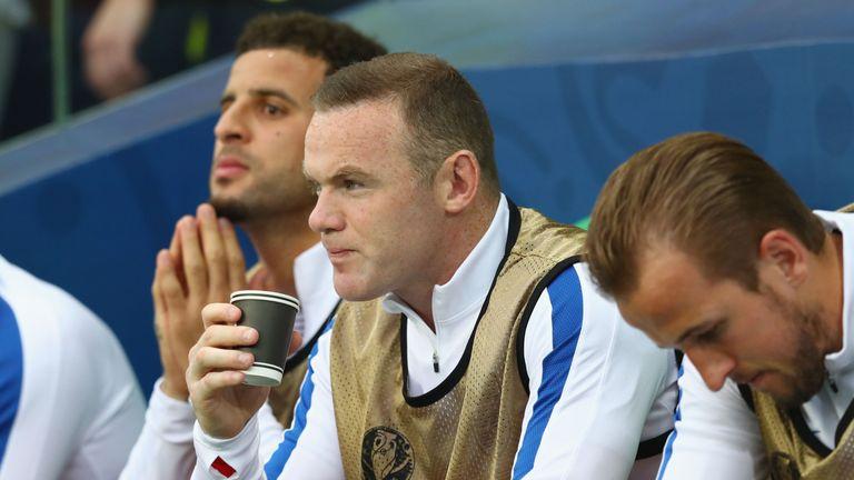 Kyle Walker, Wayne Rooney and Harry Kane