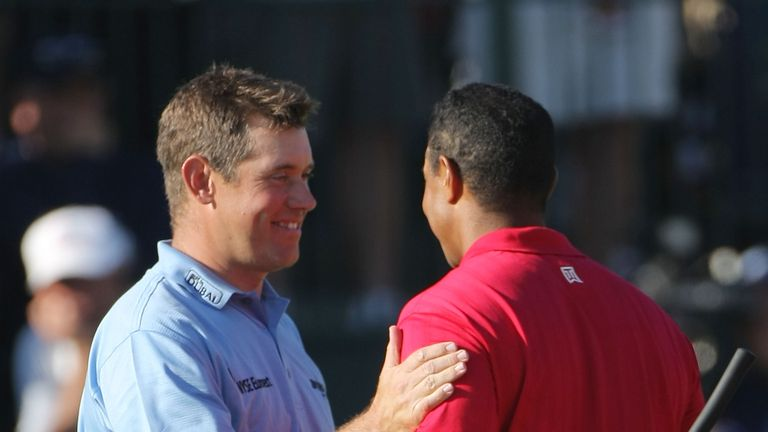Westwood missed out to Tiger Woods who went on to beat Rocco Mediate in a play-off in 2008