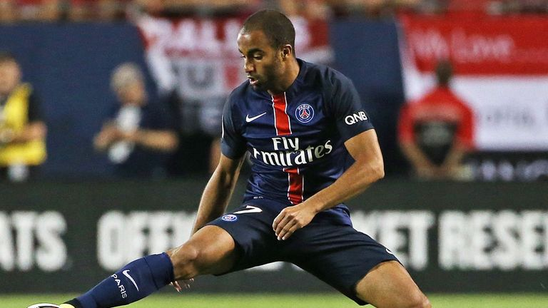 Paris St-Germain midfielder Lucas Moura continues to be linked with Liverpool