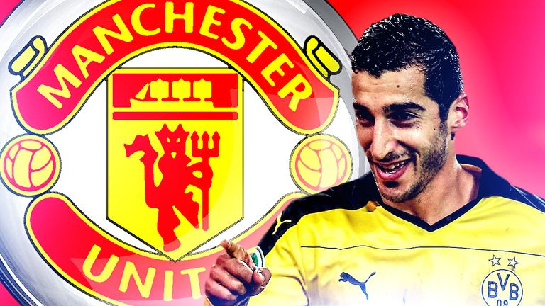 New signing Henrikh Mkhitaryan is versatile enough to fill a variety of roles
