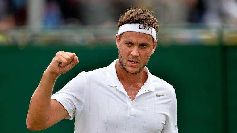 Willis has already won six matches to reach the main draw at the All-England Club