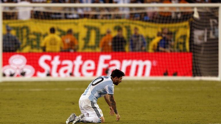 L'amarezza di Leo Messi per aver perso nuovamente la Copa America ( LaPresse)