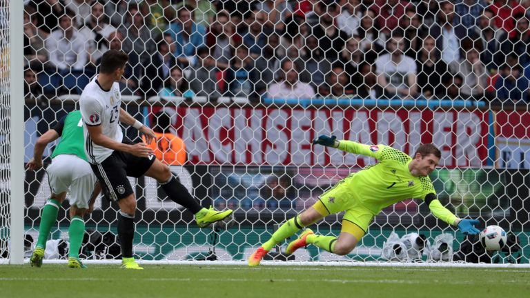 McGovern made several outstanding saves during the match
