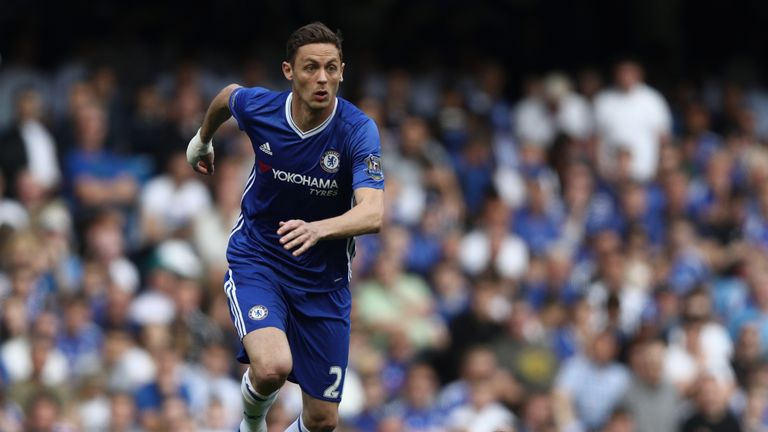 LONDON, ENGLAND - MAY 15:  Nemanja Matic of Chelsea in action during the Barclays Premier League match between Chelsea and Leicester City at Stamford Bridg