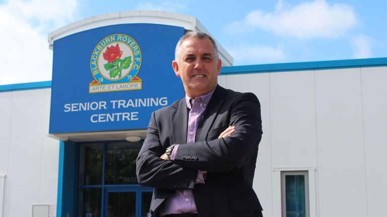 Coyle has signed a two-year deal at Blackburn (picture courtesy of Blackburn Rovers FC)