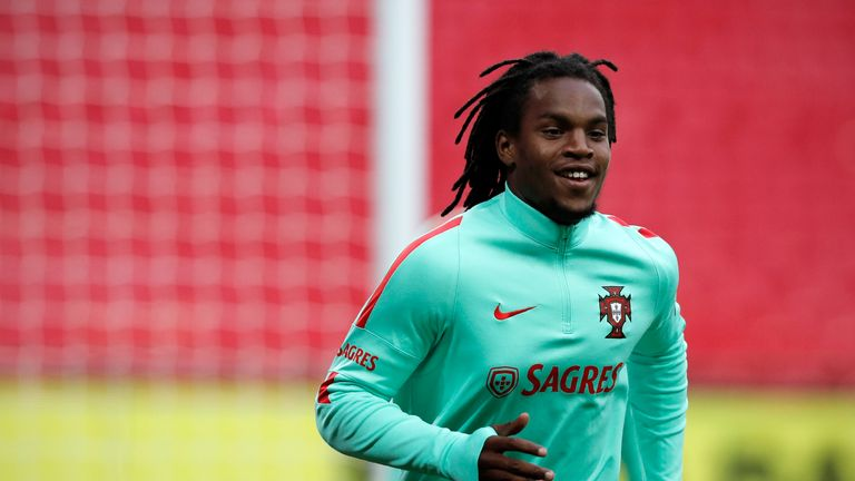 Exciting young midfielder Renato Sanches may get a chance to impress at Wembley