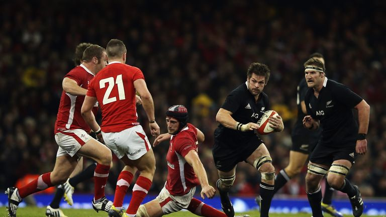 New Zealand inflicted an attacking masterclass on the Welsh in 2012