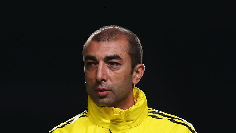 Roberto Di Matteo, Chelsea, November 2012