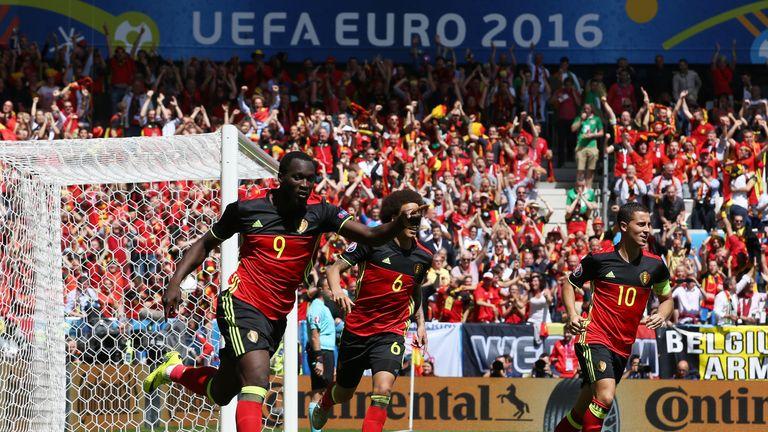 Romelu Lukaku scored twice against Republic of Ireland