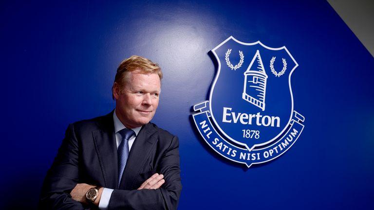Ronald Koeman, Everton press conference, Finch Farm