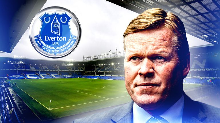Ronald Koeman is set to be announced as the new Everton manager