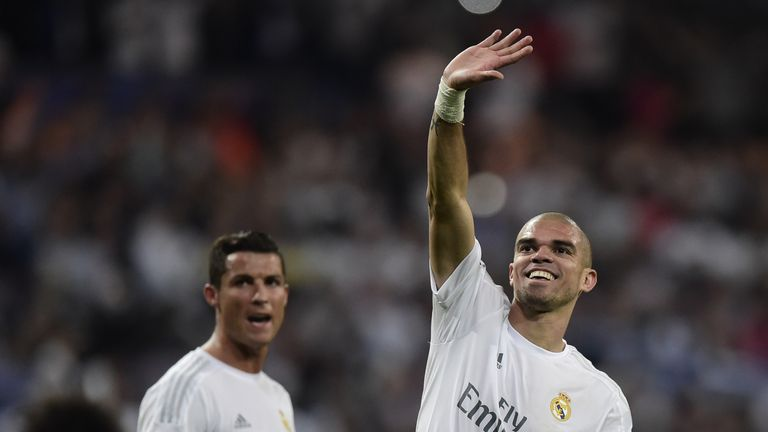 Real Madrid pair Pepe and Cristiano Ronaldo have been accused of acting by Iceland coach Lars Lagerback