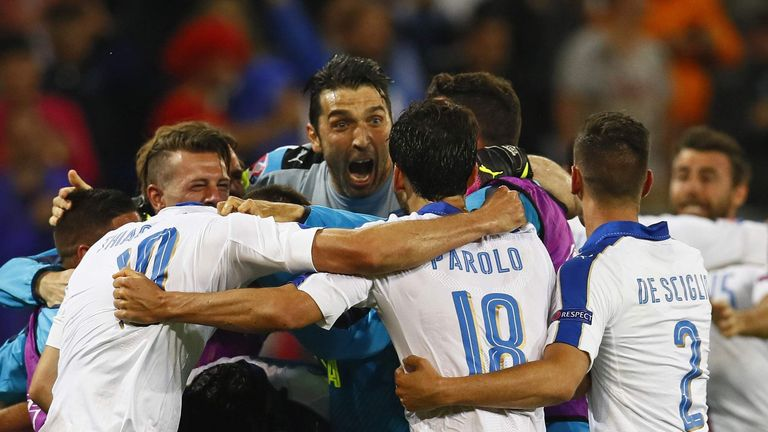 Antonio Conte says Italy won't be making up the numbers on Monday night