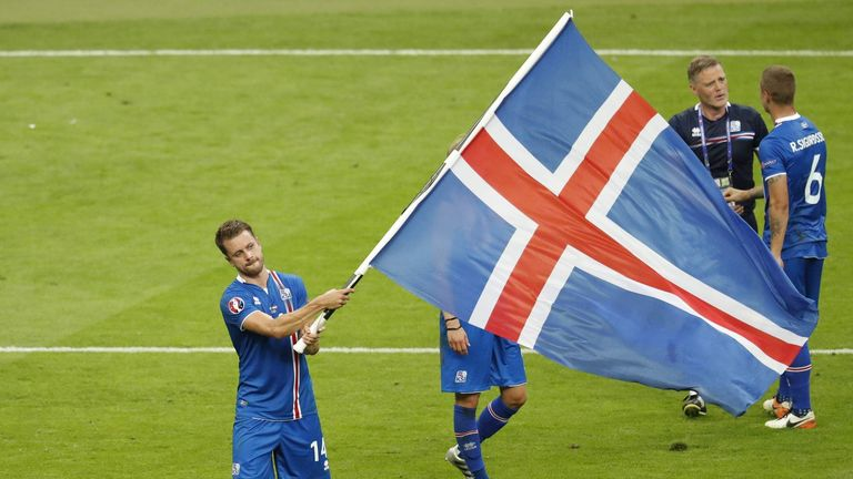 Iceland are the smallest nation ever to qualify for a major tournament