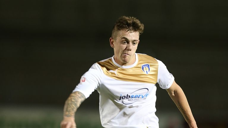 Sammie Szmodics: Pushing for a starting place