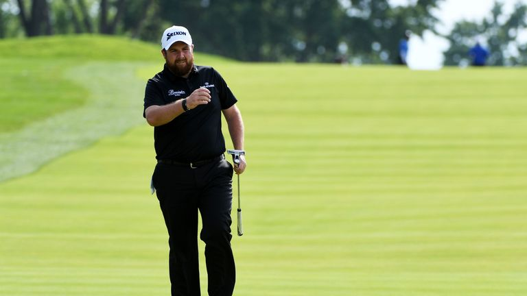 Shane Lowry shared second place at last week's US Open