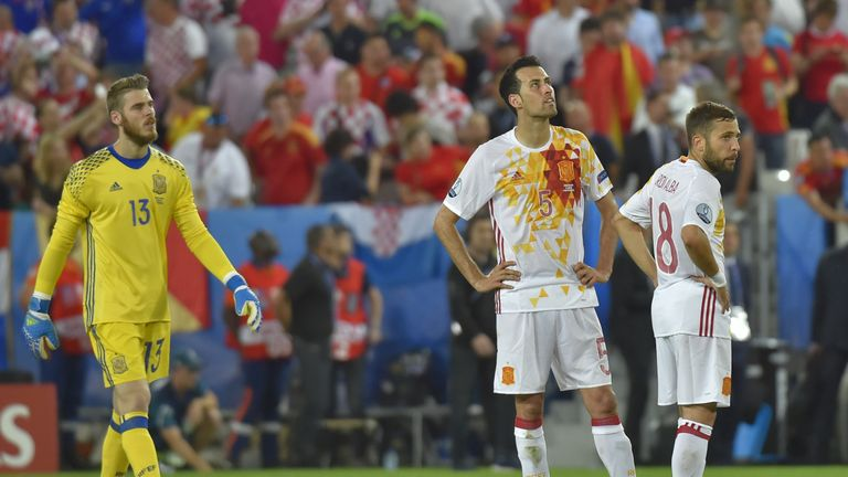 Spain lost 2-1 to Croatia in their final group game, meaning they will now play Italy in the last 16 of Euro 2016