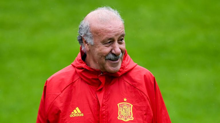 Vicente del Bosque guided Spain to Euro 2012 success