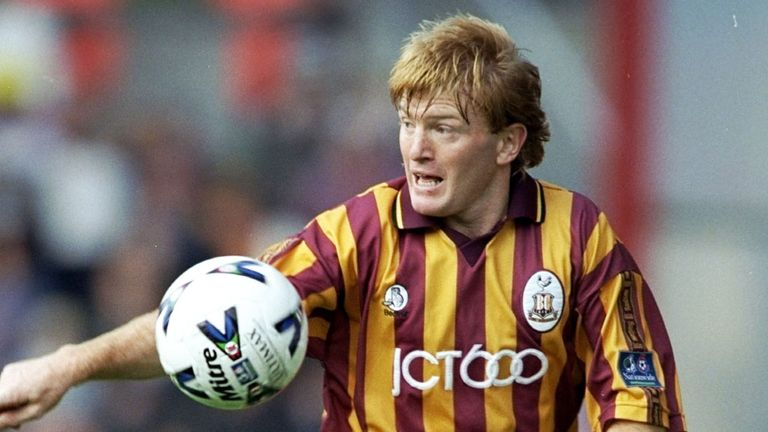 Stuart McCall had two spells with Bradford during his playing career