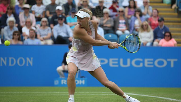 Caroline Wozniacki is due to carry Denmark's flag