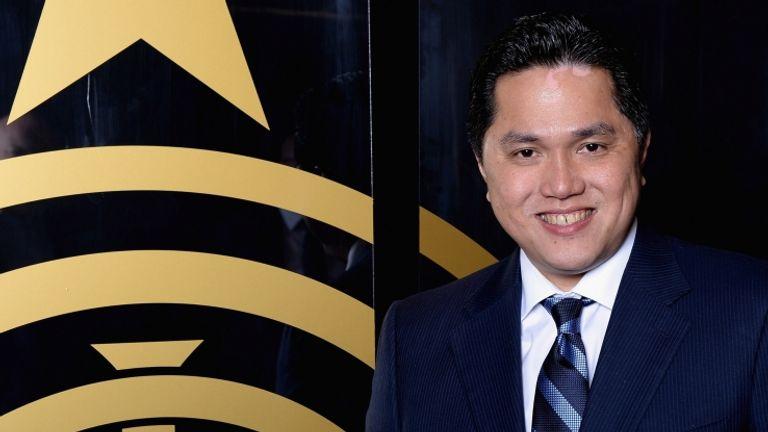 Erick Thohir, presidente dell'Inter (foto getty)