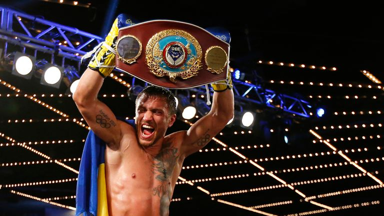 Vasyl Lomachenko beat Valdez as an amateur and was the previous WBO featherweight champion
