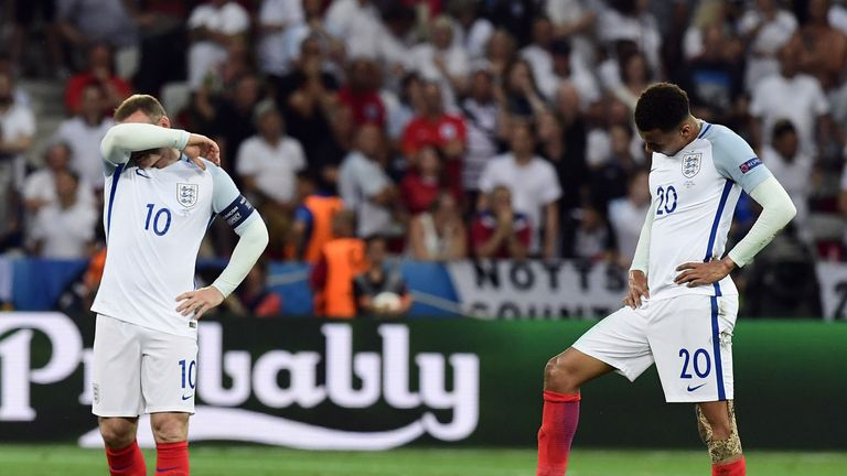 Twitter reacts to England's Euro 2016 elimination after defeat by